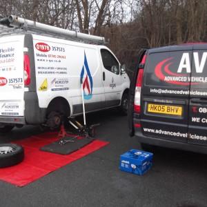 mobile van mechanic service